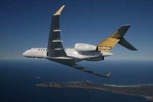 Bombardier Global 5000, fratele mai mic al Global Express - Sursa: FlightGlobal