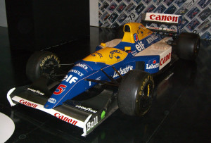 Williams FW14B - Sursa: Wikipedia.org