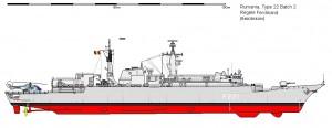 Fregata Regele Ferdinand - Sursa: www.shipbucket.com