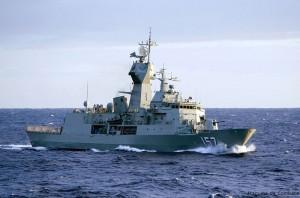HMAS Perth - Sursa: www.strangecosmos.com