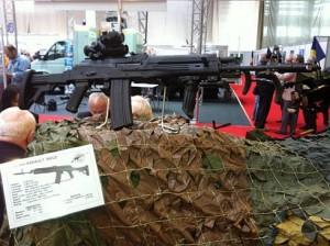 Pusca de asalt Cugir, BSDA 2012 - Sursa: ziarul Unirea