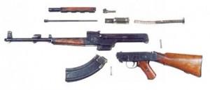 AK 46 dezasamblata - Sursa: world.guns.ru