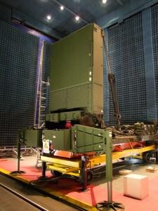 Radarul pentru conducerea focului - Sursa: www.lockheedmartin.com