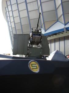 Turela UMB Q Selva Stealth Interceptor 700 - Sursa: Revista Fortelor Terestre