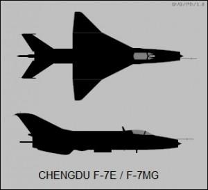 F-7E - Sursa: www.airvectors.net
