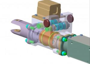 Servoactuator - Sursa: INCAS
