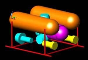 Varianta doua corpuri etanse - Sursa: SC ICPSP SA