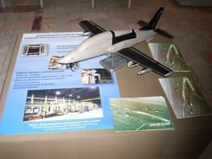 Macheta de tunel - Sursa: Leo's ship models blogspot