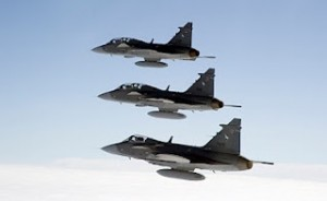 SAAB Gripen - Sursa: air-ace.blogspot.co.uk / Foto: Per Kustvik