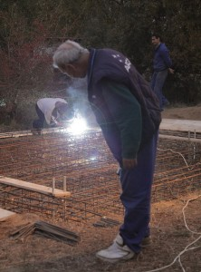 Constructia fundatiei standului de teste ARCA - Sursa: facebook.com/arcaspace