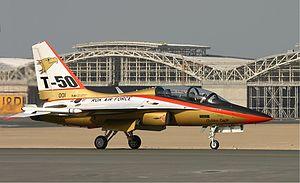 KAI T-50 - Sursa: wikipedia.com