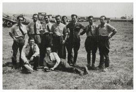 Piloti romani in cel de-al doilea razboi mondial - Sursa: arhivă gen. Ion Dobran