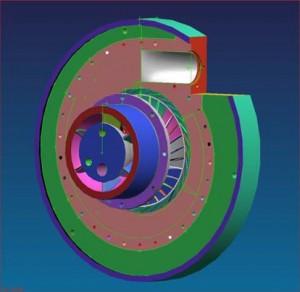 Compresor centrifugal - Sursa: cnmp.ro