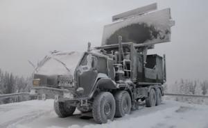 GM400 conditii extreme in Finlanda - Sursa: puolustusvoimat.fi