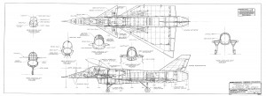 Proiect F-16 canard - Sursa: Code One Magazine