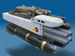 Lansator M299 cu Hellfire si DAGR - Sursa: DefenceForumIndia.com