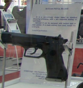 Pistol Md.2000 - Sursa: Wikipedia.org