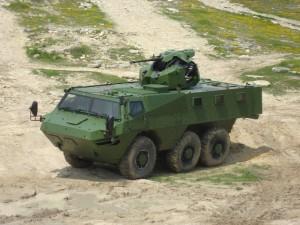 VAB Mk3 cu turela BAE Systems TRT-25 - Sursa: forcesoperations.com