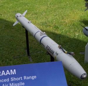 AIM-132 ASRAAM - Sursa: Wikipedia.org