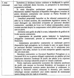 Expunere de motive legea achizitiei F-16 - Sursa: cdep.ro