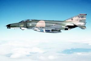 F-4 Phantom - Sursa: Wikipedia.org