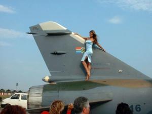 In poza e si un Super Mirage F1 prezent la MAKS 2001 - Sursa: Facebook