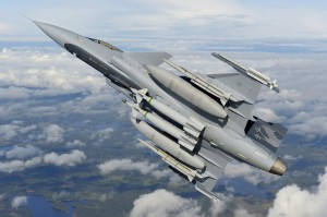 Demonstratorul Gripen NG - Sursa: air-attack.com
