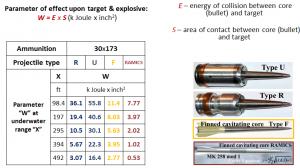 Multi Environment Ammunition - Sursa: ITT