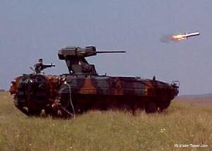 MLI-84M1 lansand Spike - Sursa: military-today.com