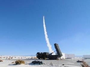 Imagine din timpul testului de pe 6 Noiembrie - Sursa:  White Sands Missile Range via spacenews.com