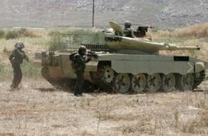 Nici de aproape nu pare T-55 - Sursa: militaryphotos.net