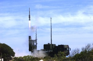 Lansare IRIS-T SL - Sursa: Diehl