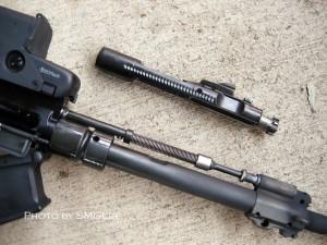 Port-inchizator si piston HK416 - Sursa: defensereview.com