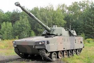 ANDERS cu tun de 105mm - Sursa: armyrecognition.com