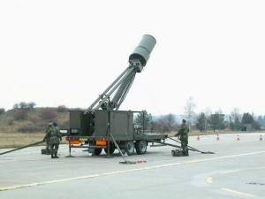 Radar pasiv Vera E - Sursa: army.cz