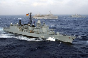 Niedersachsen, fregata din clasa F122  - Sursa: Wikipedia.org