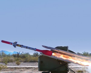 Interceptorul este o versiune a Sidewinder - Sursa: Raytheon