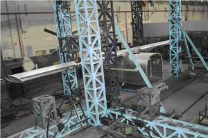 Probe statice ale structurii AeroTaxi - Sursa: Buletinul INCAS