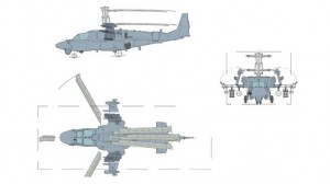 Ka-52K - Sursa: Kamov Design Bureau via Jane's