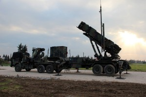 Lansator Patriot olandez stationat in Turcia - Sursa: NATO.int