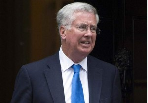 When we talk about spending, quality as well as quantity counts. ... So we are urging all allies to spend 20 percent of their defense budgets on new equipment, research and development of capabilities,' UK Defence Secretary Michael Fallon said in a speech delivered in London on Sept. 3. (Carl Court / AFP) via defensenews.com