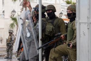 Ruger 10/22 in uz - Sursa: palestinemonitor.org