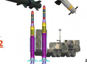 Rachetele Hisar-A vs Hisar-O - Sursa: defence.pk