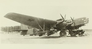 Zveno-SPB (TB-3 si I-16) - Sursa: Wikimedia.org