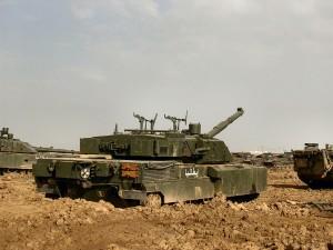 Ariete C1 cu blindajul aditional - Sursa: armorama.com