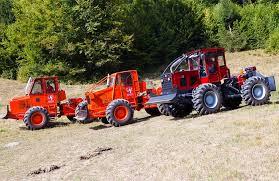 Tractor Articulat Forestier - Sursa: IRUM via rwim.ro