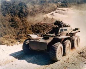 XM-808, varianta armata a lui Twister - Sursa: U.S. Army/Mark Holloway - Beatty, Nevada USA via warwheels.net