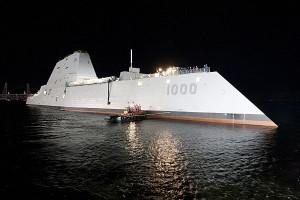 Cea mai buna reclama: DDG-1000 - Sursa: navy.mil