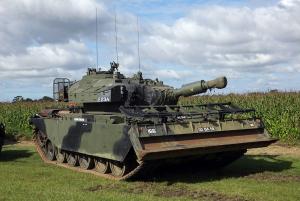 Centurion Mk.5 AVRE 02BA58 ''Blood Hound'' - Sursa: norfolktankmuseum.co.uk