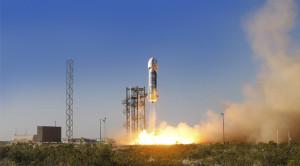 29 Aprilie, lansarea New Shepard - Sursa: Blue Origin